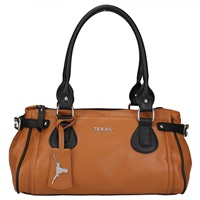 The Baywood Handbag Purse Texas Longhorns