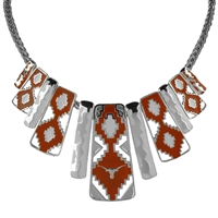Texas Aztec Print Necklace | Nova