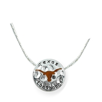 Texas Circular Script Necklace | Neunice