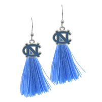 Tassel Charm Earrings University of North Carolina