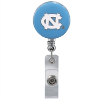 College Fashion University of North Carolina Retractable ID Larry Lanyard Badge Reel
