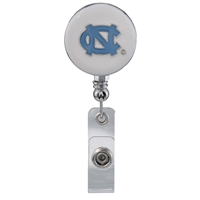 College Fashion University of North Carolina Retractable ID Lindy Lanyard Badge Reel