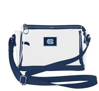 UNC SMALL CLEAR HANDBAG