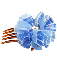 Hair Comb Accessory North Carolina Tar Heels