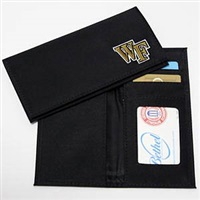 Wake Forest Checkbook Cover