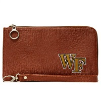 Football Wrist Bag | Wake Forest