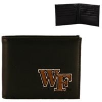 Wake Forest Men's Bi-fold Wallet Billfold Demon Deacon