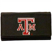 Soft Touch Wallet (Black) | Texas A&M