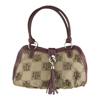 Texas A&M Patriot Shoulder Handbag Aggie Purse College Station TX