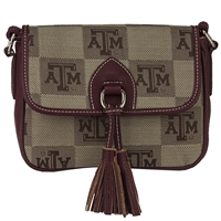 The Vintage Handbag Crossbody Bag Texas A&M
