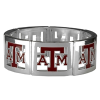 Square Stretch Aggies Silver Jewelry