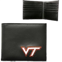 Virginia Tech Men's Wallet Hokie Billfold Bi-fold