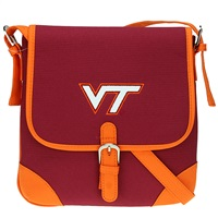 Virginia Tech Jackson Crossbody Handbag Hokie Shoulder Purse Hokie