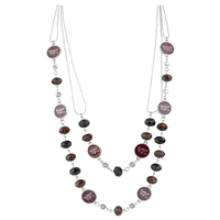 VIRGINA TECH 629 | Multi-Strand Bead Necklace