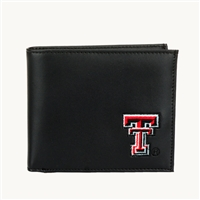 Texas Tech Men's Bi-Fold Wallet Billfold Red Raider