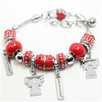 Quad-Charm Bracelet | Texas Tech