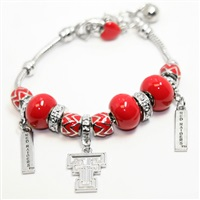 Triple Bead Bracelet | Texas Tech