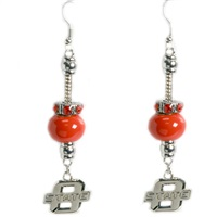 Homecoming Pride Earrings | Oklahoma State
