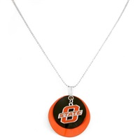 Silver Necklace Oklahoma State Cowboys Pistol Pete