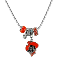 MVP Charm Necklace | Oklahoma State University