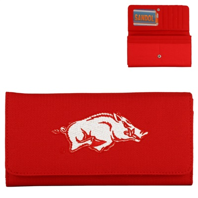 Debbie Wallet Arkansas Razorbacks