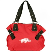 Arkansas Billie Shoulder Handbag Razorback Purse