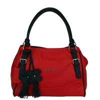 The Jet Set Handbag Purse Arkansas Razorback