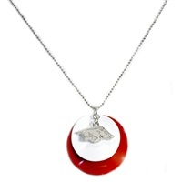 ARKANSAS 616 | Double Layer Disc Necklace