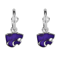 Kansas St Dangle Earrings