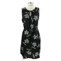 Black & White Sea Turtle Dress