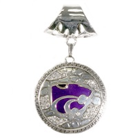 Ornate Scarf Pendant Kansas State University