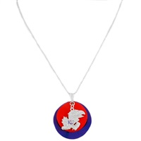 Silver Necklace Kansas Jayhawks