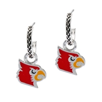 LOUISVILLE 4034 | LOGO CHARM EARRINGS