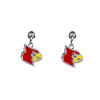 Dangle Logo Charm Earrings | Lousiville
