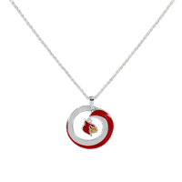 LOUISVILLE 6067 | SWIRL LOGO NECKLACE