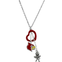 U of L Multi Logo Necklace Licensed College Jewelry