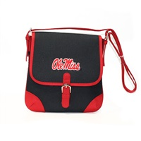 Mississippi Jackson Crossbody Handbag Ole Miss Shoulder Purse Black Bear