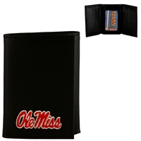 Men's Tri-Fold Wallet Mississippi Rebels