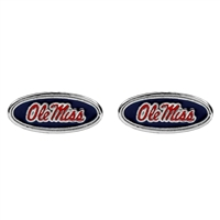 Ole Miss Logo Earrings Jewelry