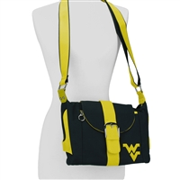 West Virginia WVU Kirsten Handbag Crossbody Purse Mountaineer