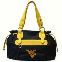 Jasmine Handbag West Virginia Mountaineer Shoulder Bag
