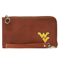Football Wrist Bag | West Virginia