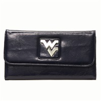 Lizzie Wallet West Virginia Mountaineer Tri-Fold