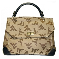 The Satchel Handbag Cross Body Bag West Virginia University