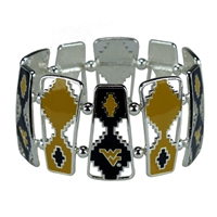 Aztec Bracelet West Virginia University