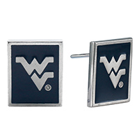 WEST VIRGINIA 406 | Square Earrings West Virigina