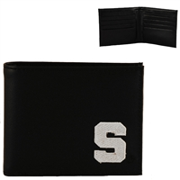 Michigan State Men's Bi-Fold Wallet Spartan Billfold