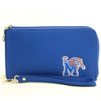 Memphis Tigers Wristlet Clutch Bag Wrist College Apparel