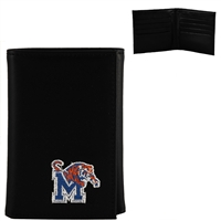 Men's Tri-Fold Wallet Memphis Tiger Collegiate Wallet