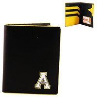 App State Hipster Wallet Bi-Fold Mountaineer Billfold Boone North Carolina